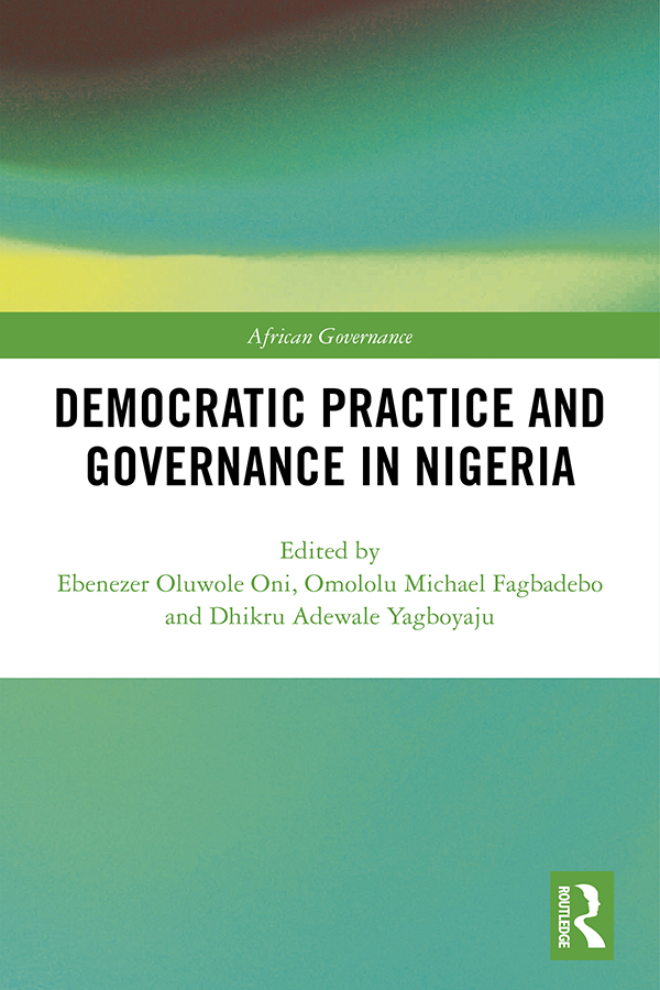 Security institutions and democratic governance in Nigeria