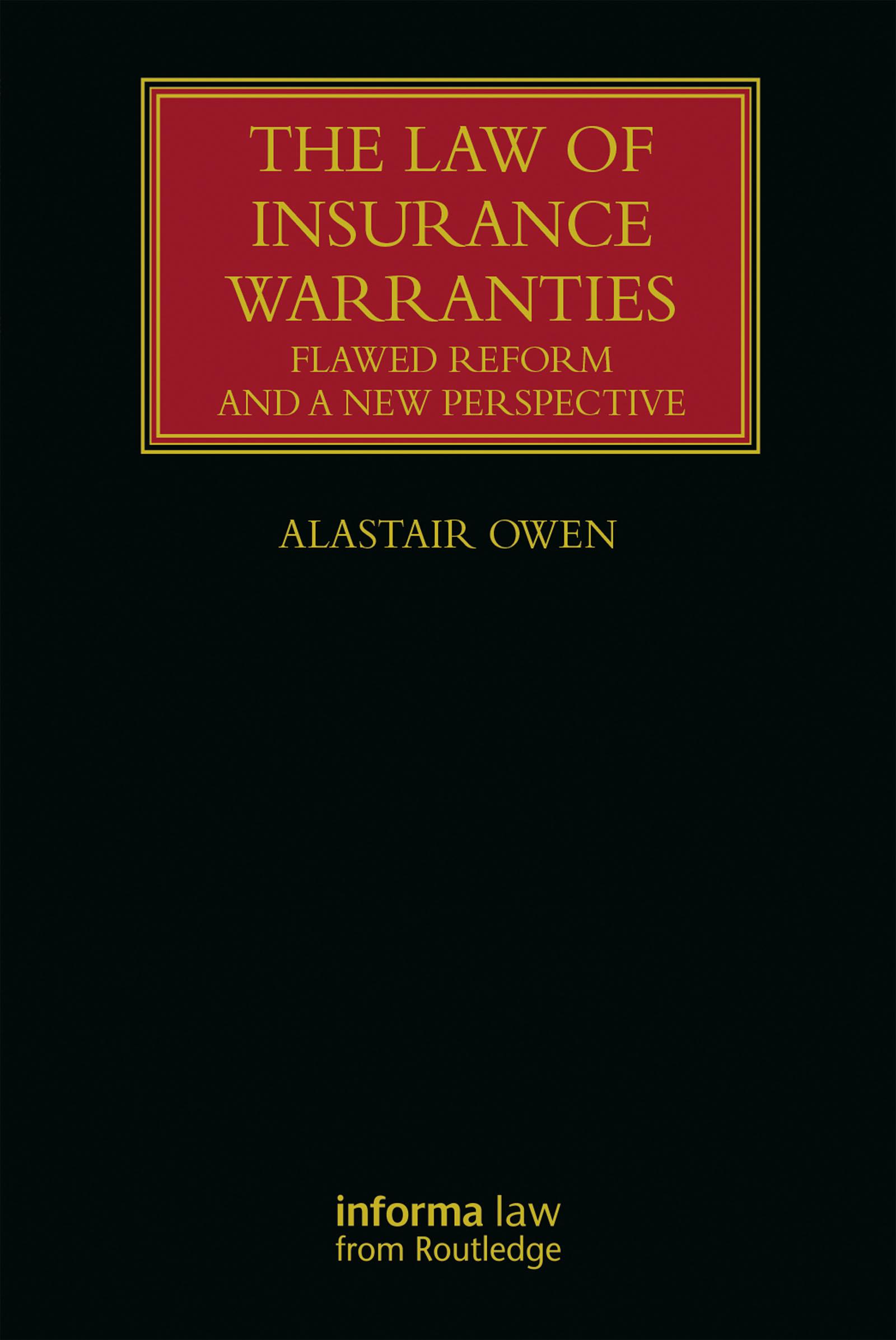 The law on insurance warranties in New Zealand