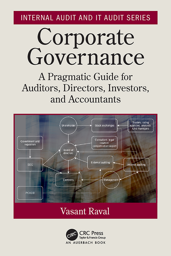 Corporate Governance: A Pragmatic Guide for Auditors, Directors, Investors, and Accountants book cover