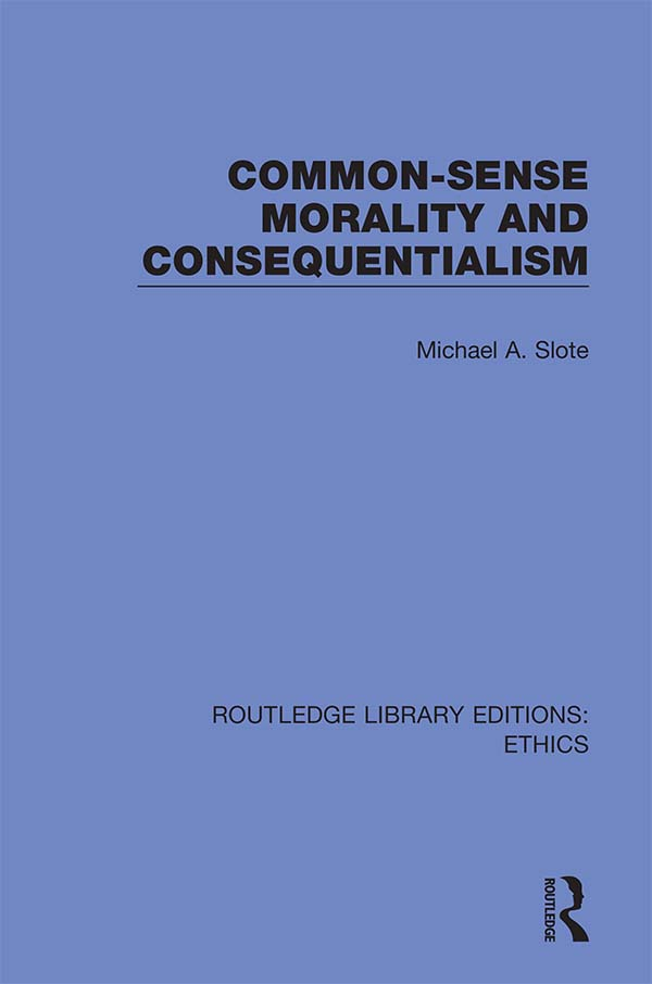 Common-Sense Morality and Consequentialism