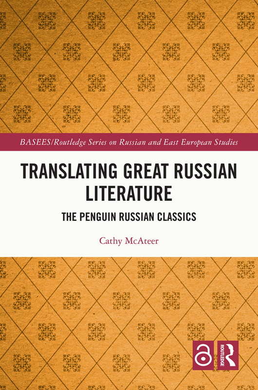 Translating Great Russian Literature