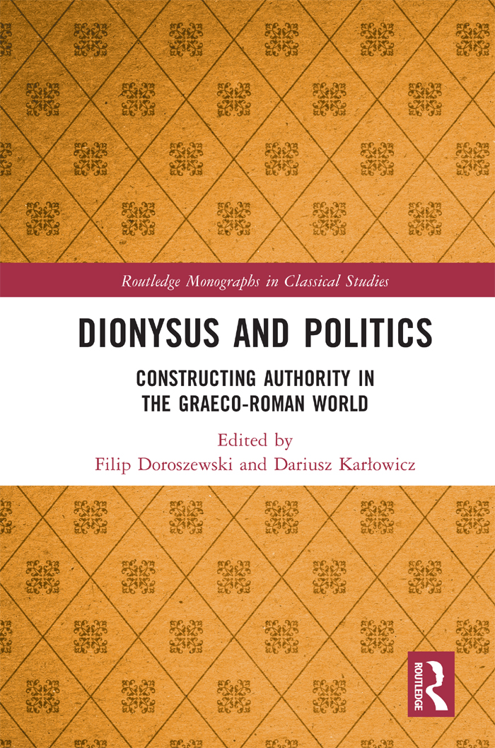 The rule of Dionysus in the light of the Orphic theogony (Hieroi Logoi in 24 Rhapsodies)