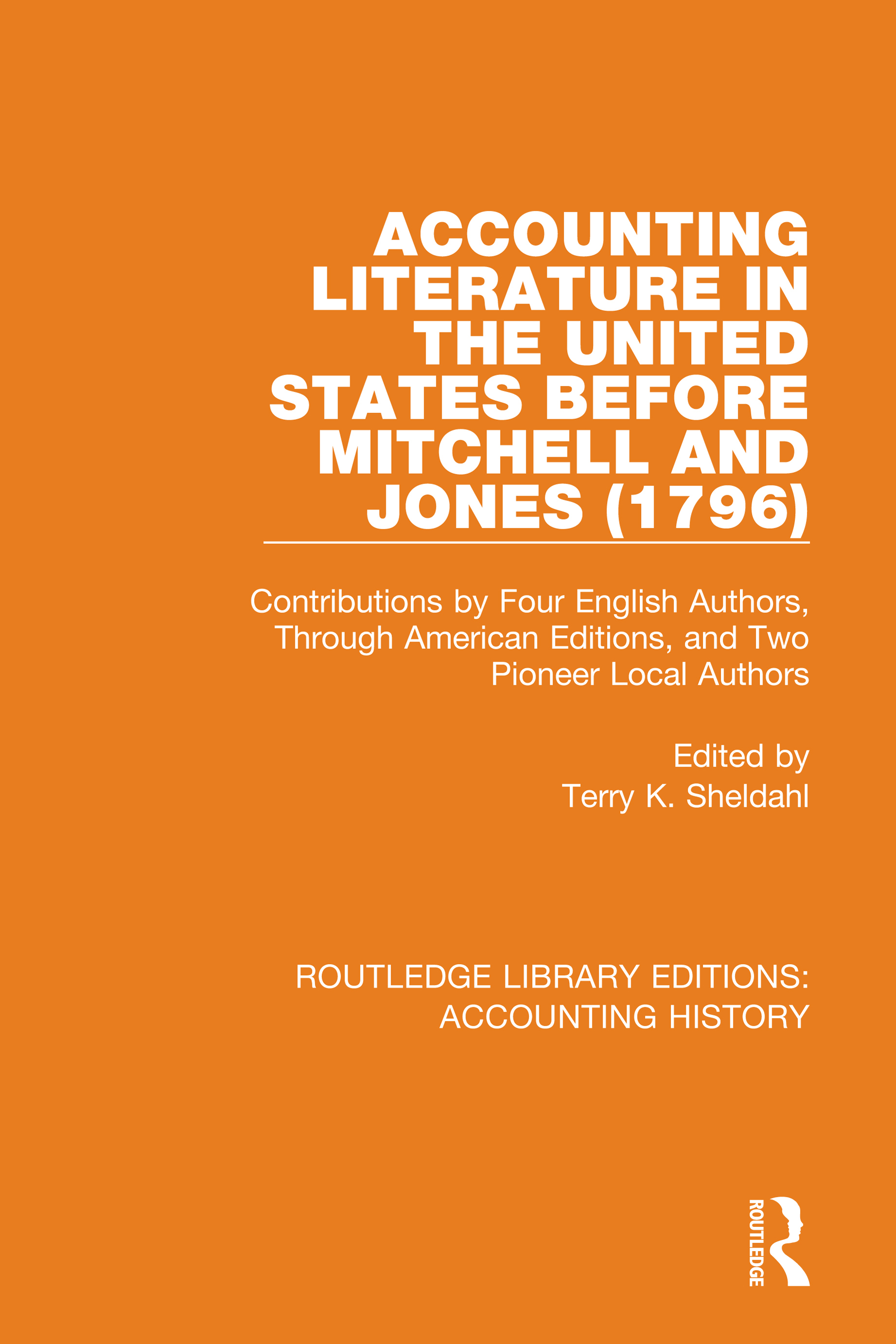 Accounting Literature in the United States Before Mitchell and Jones (1796)