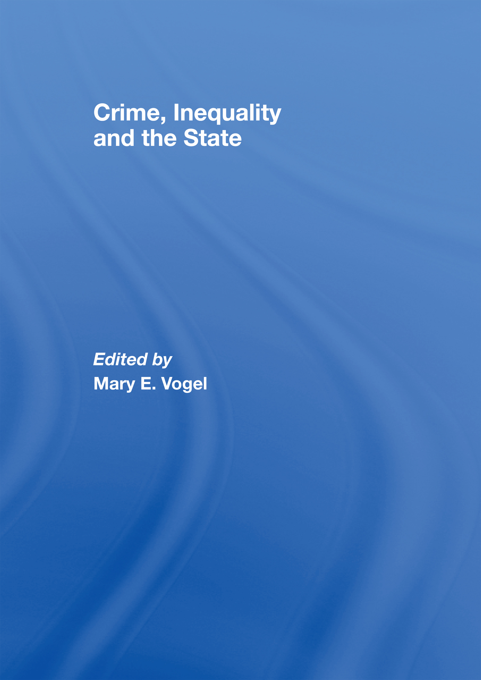 Crime and Policy