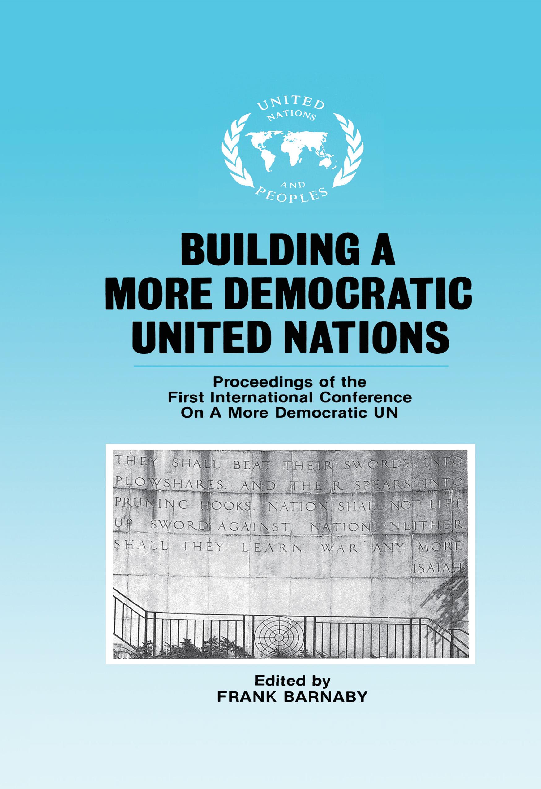 Building A More Democratic UNITED NATIONS