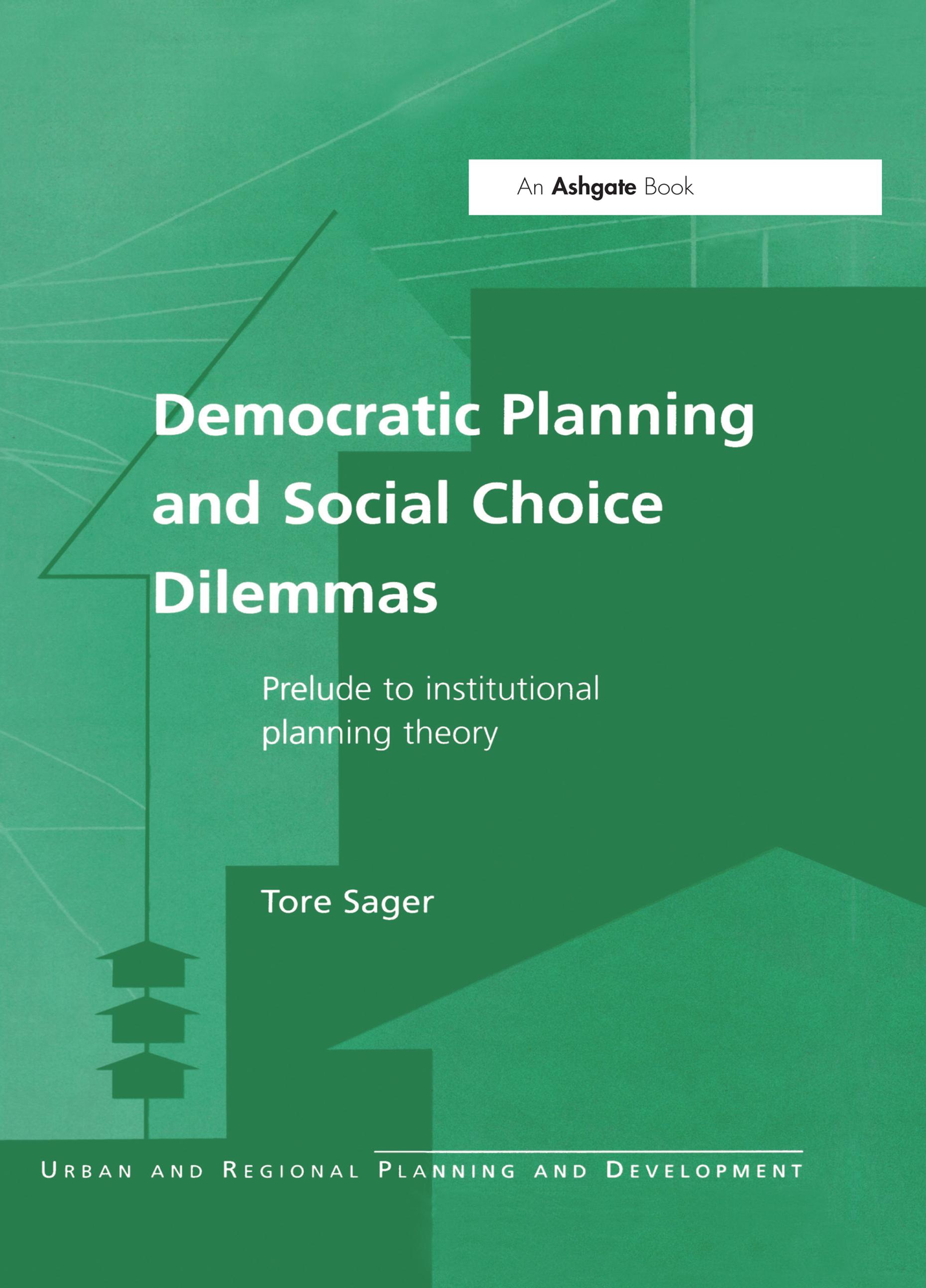 Democratic Planning and Social Choice Dilemmas
