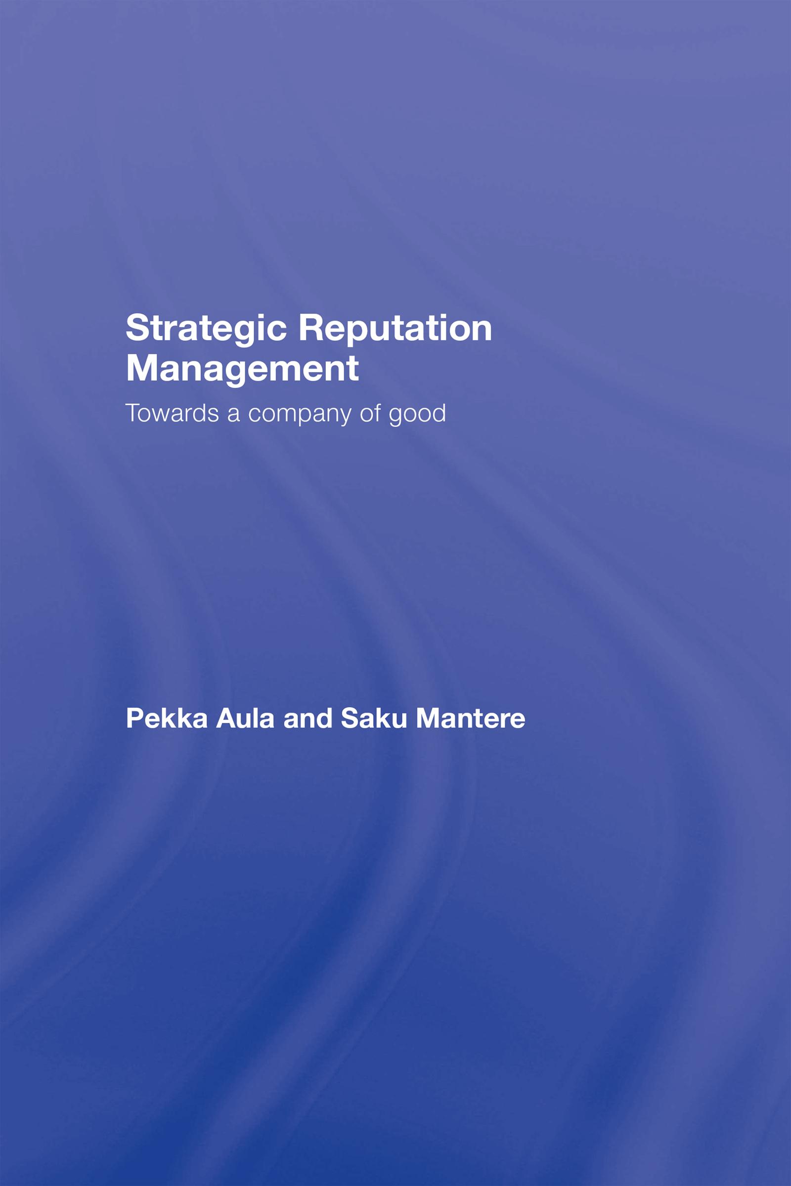 Strategic Reputation Management