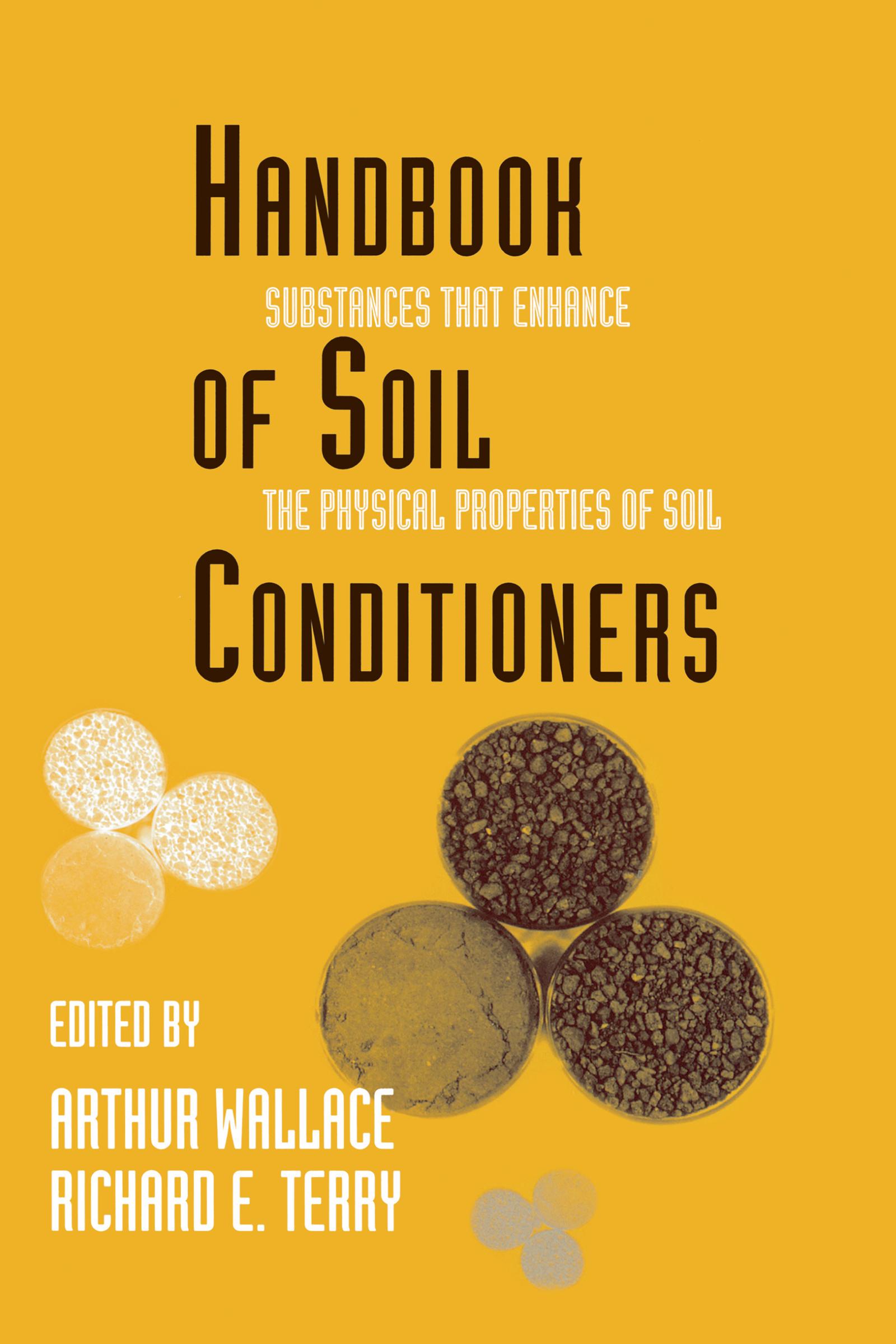 Handbook of Soil Conditioners