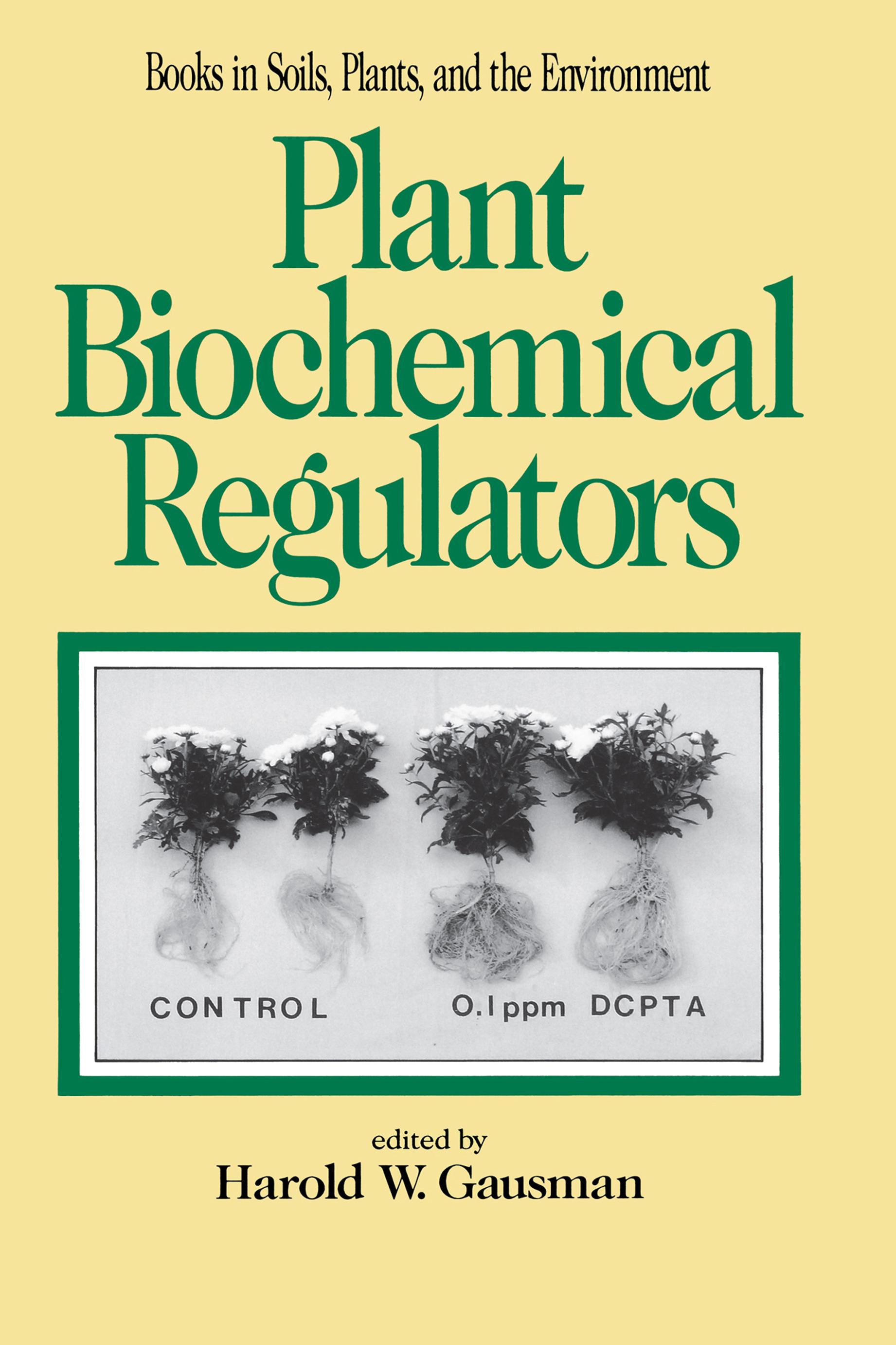 Plant Biochemical Regulators