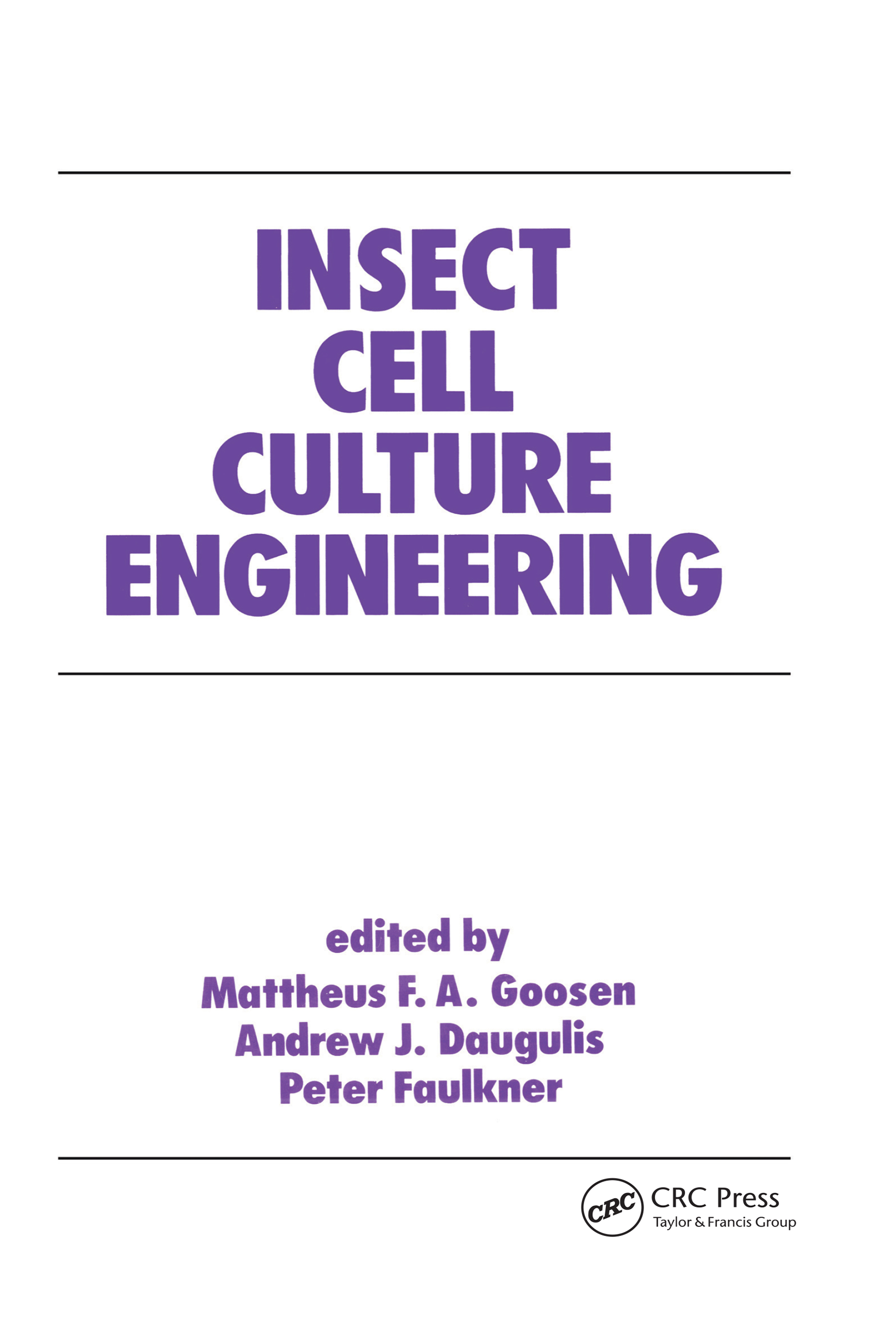 Bioreactor Design for Insect Cell Cultivation: A Review