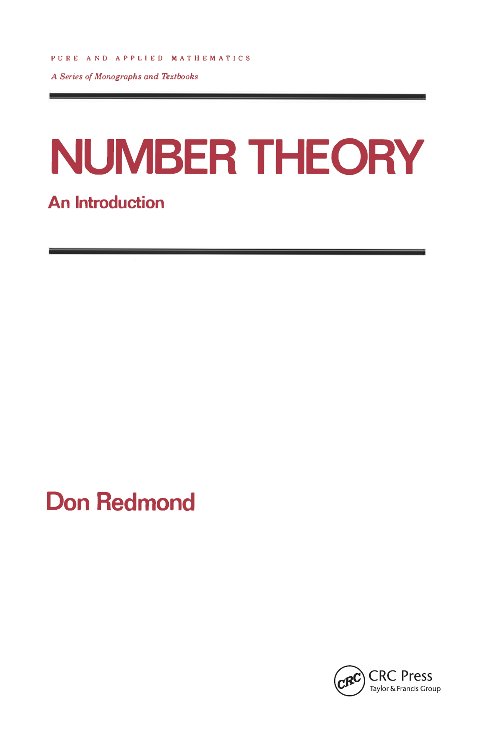 Prime Number Theory