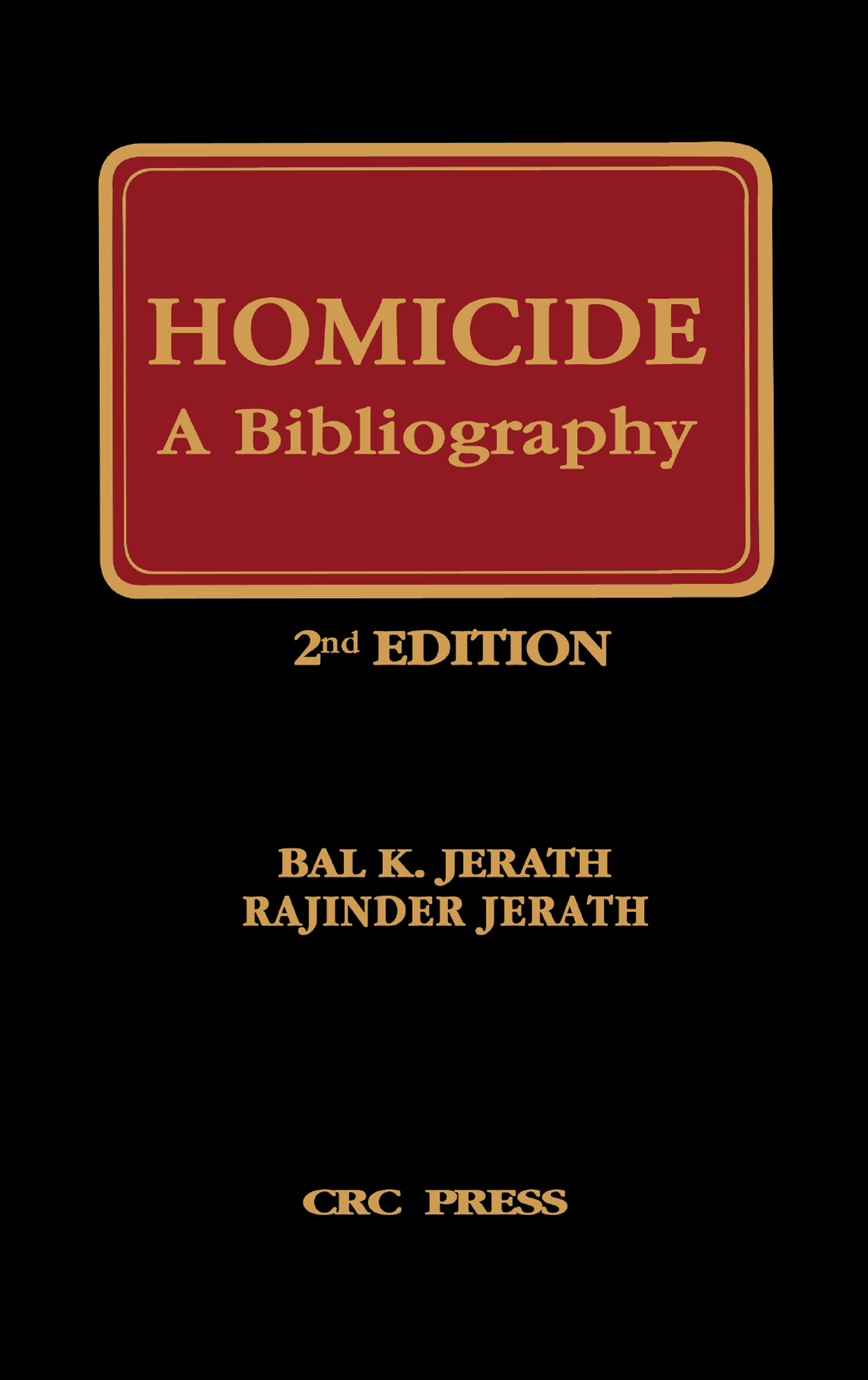 Homicide, Suicide, and Accidents