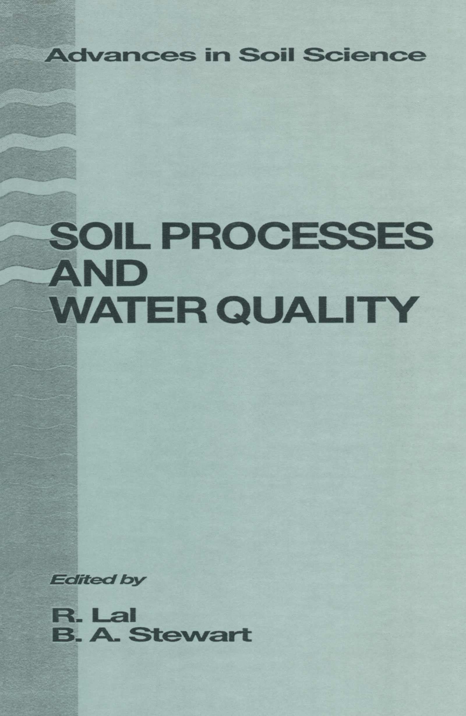 Impacts of Soil N Management on the Quality of Surface and Subsurface Water