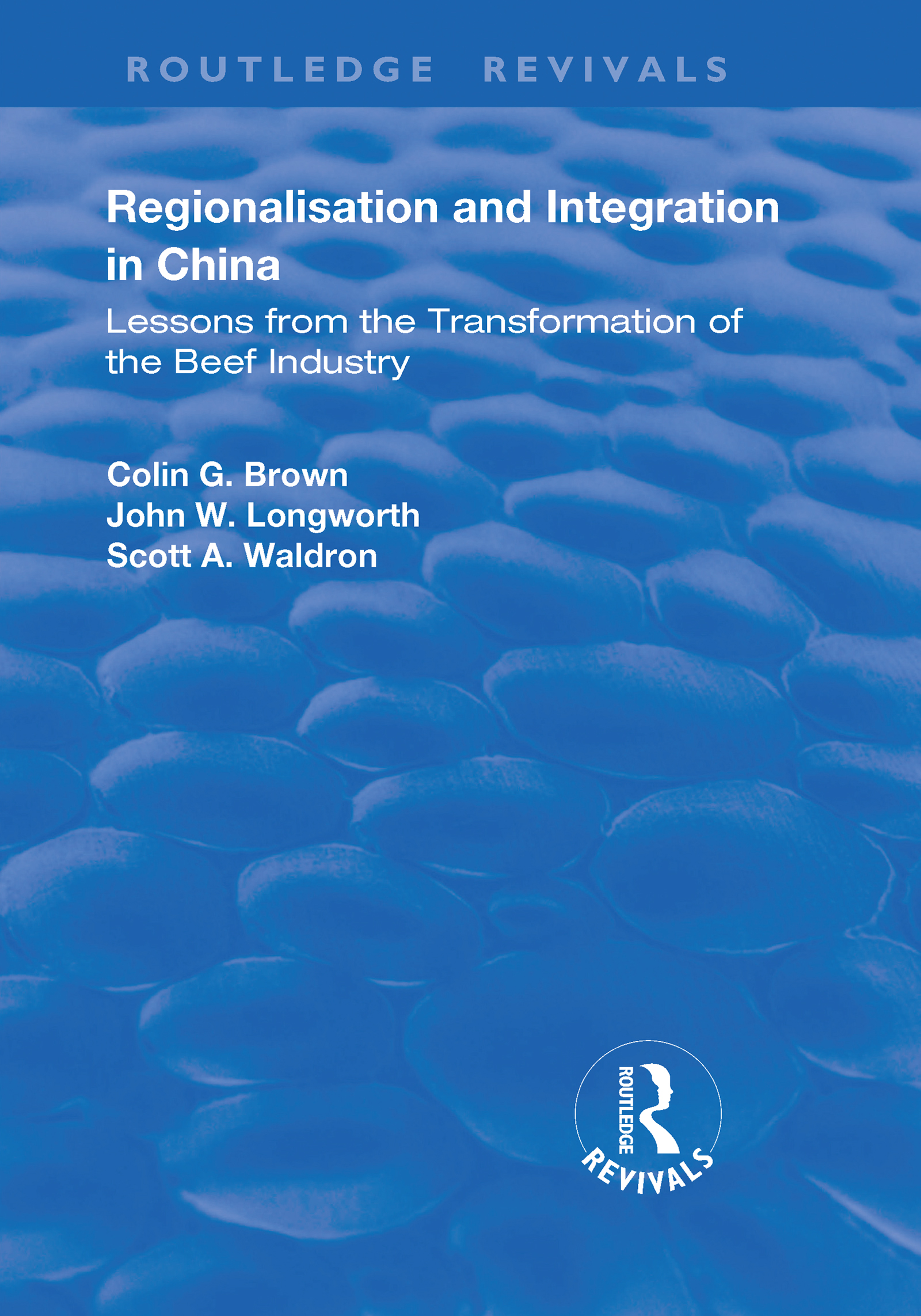 Regionalisation and Integration in China