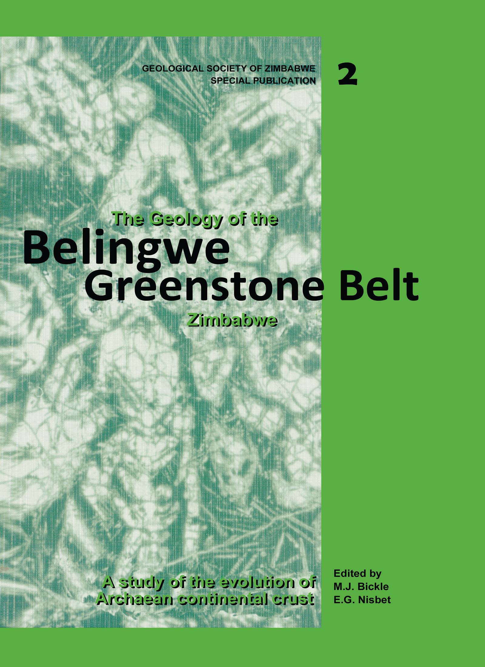 The Geology of the Belingwe Greenstone Belt, Zimbabwe