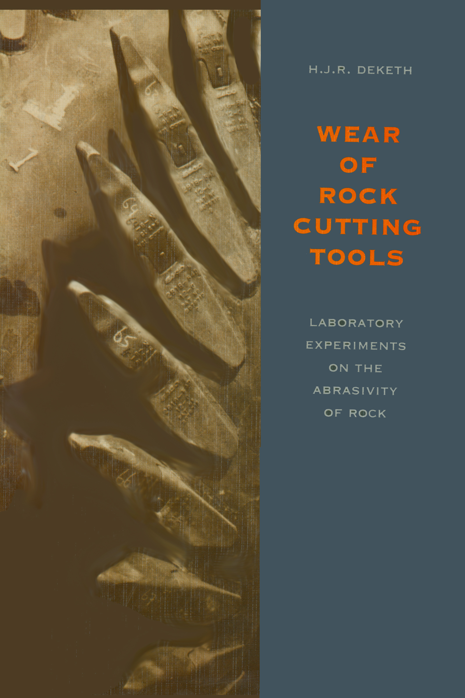 Possible wear mechanisms at the wear-flat of rock cutting tools