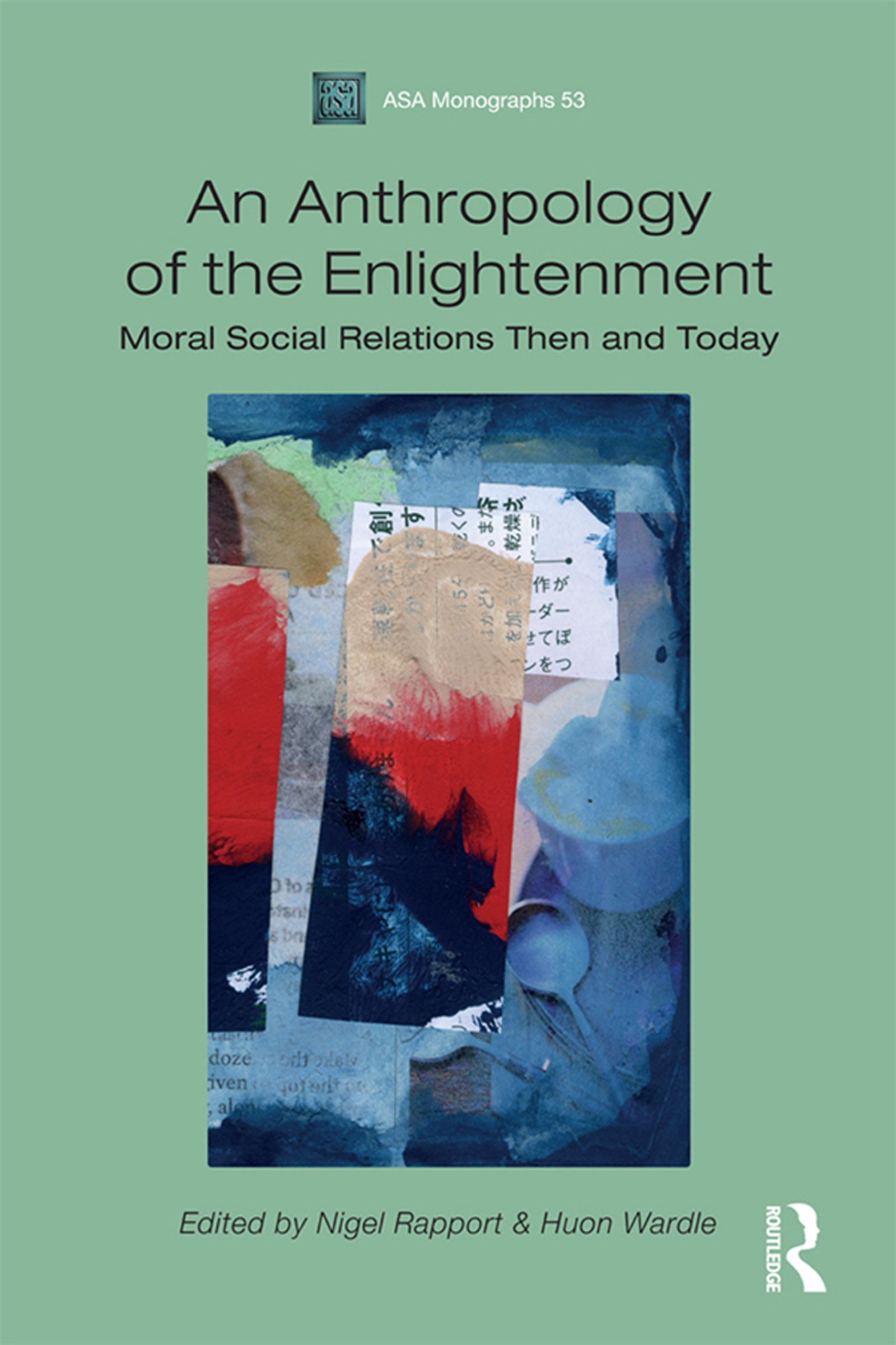 Book cover of Anthropology of Enlightenment