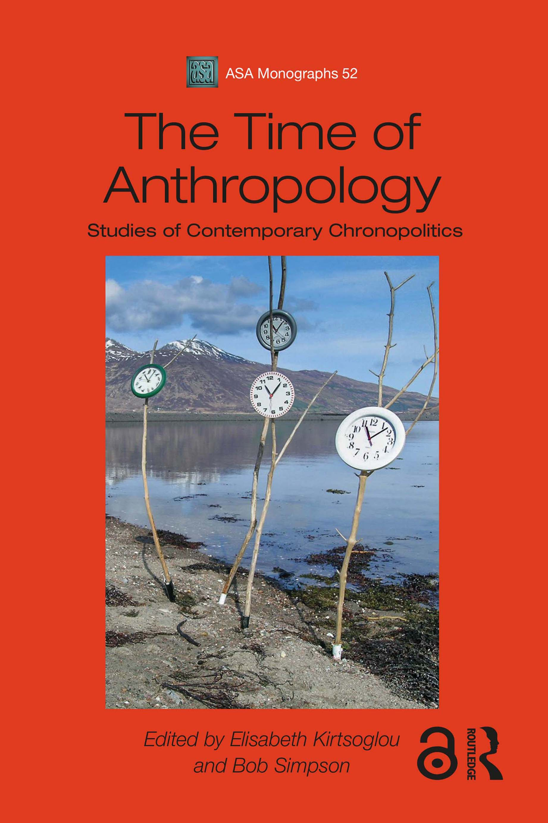 Book cover of The Time of Anthropology