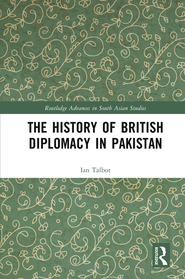 The History of British Diplomacy in Pakistan