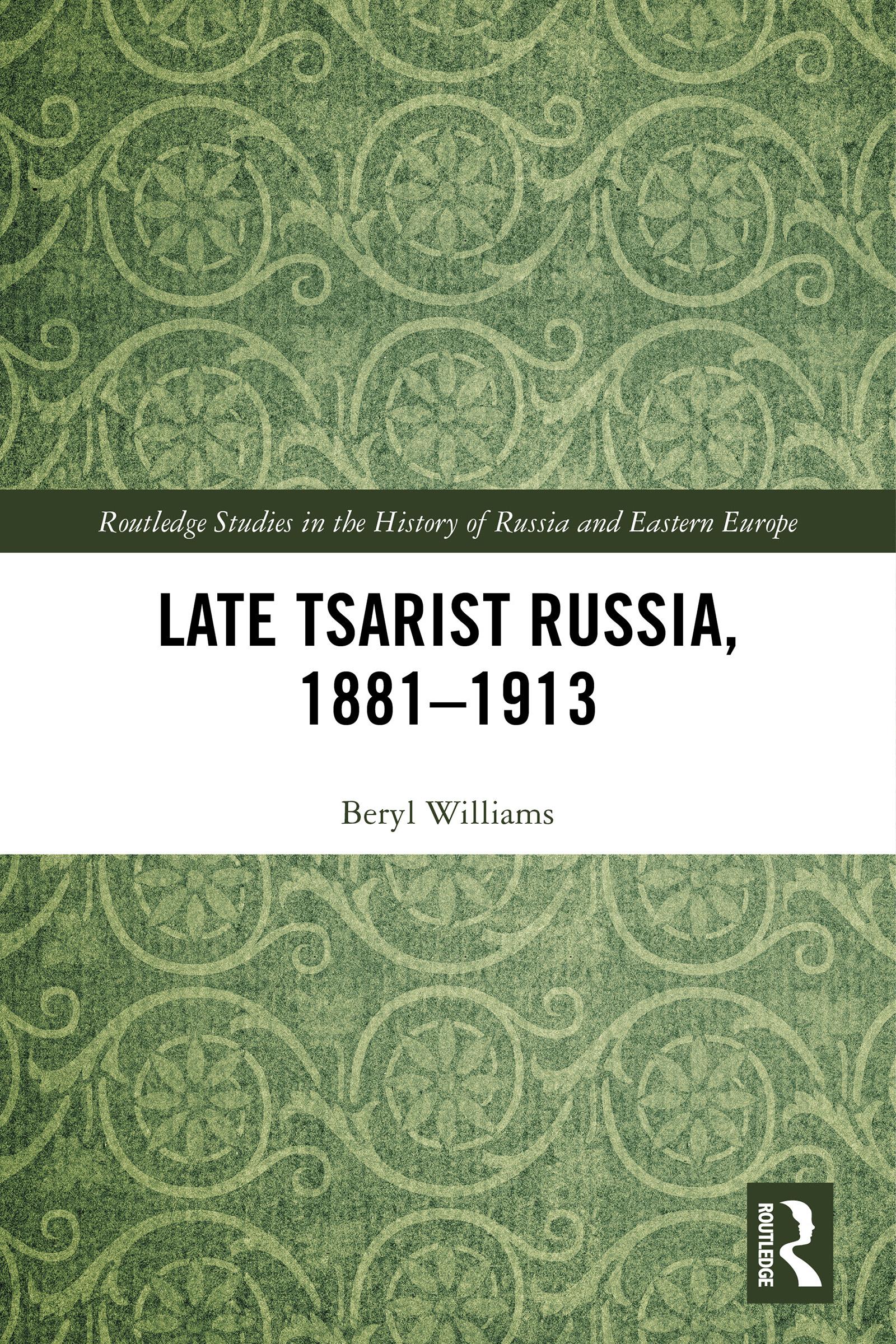 Late Tsarist Russia, 1881–1913