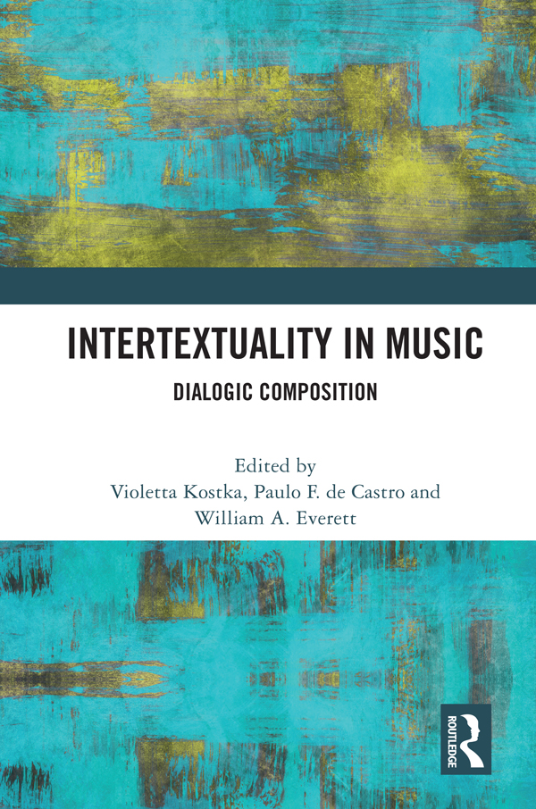 What is (is there) musical intertextuality?