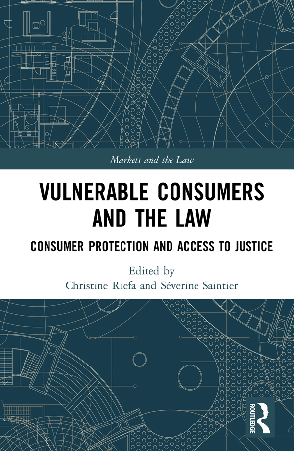 Online dispute resolution of consumer disputes, vulnerable consumers and new technologies