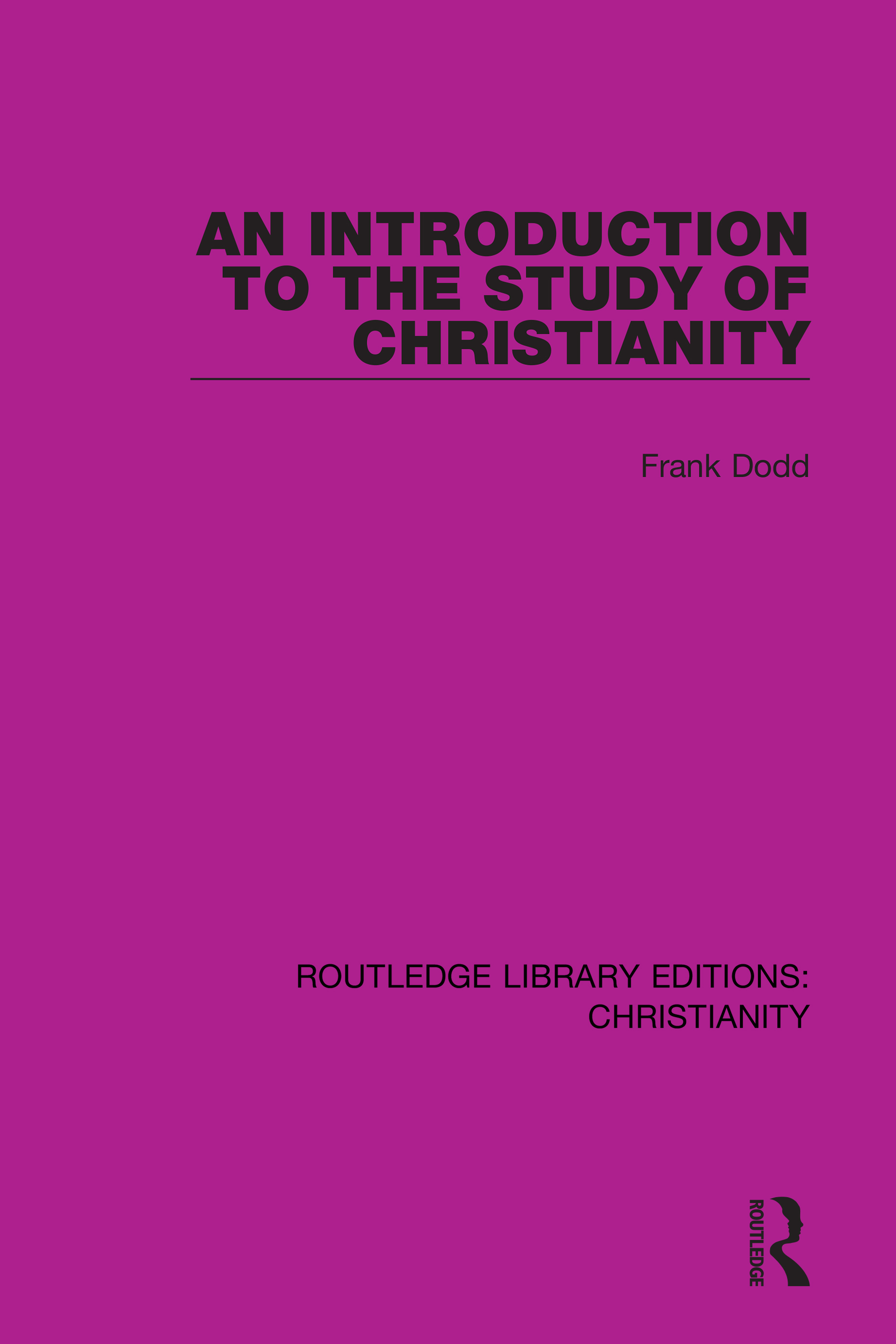 An Introduction to the Study of Christianity