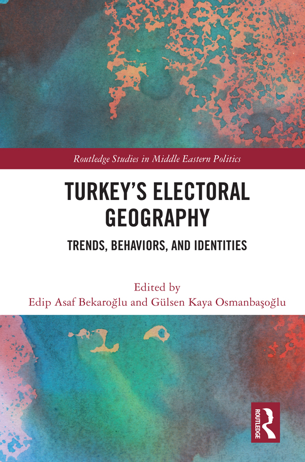 The dynamics of change and differentiation in voter preferences in the western coastal provinces of Turkey since the 1980s