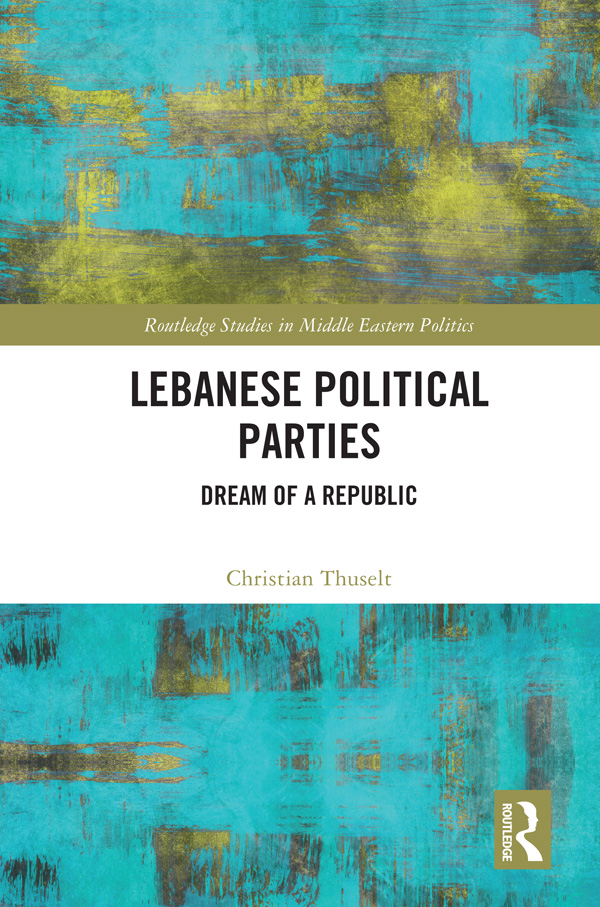 The emergence of political parties in Lebanon