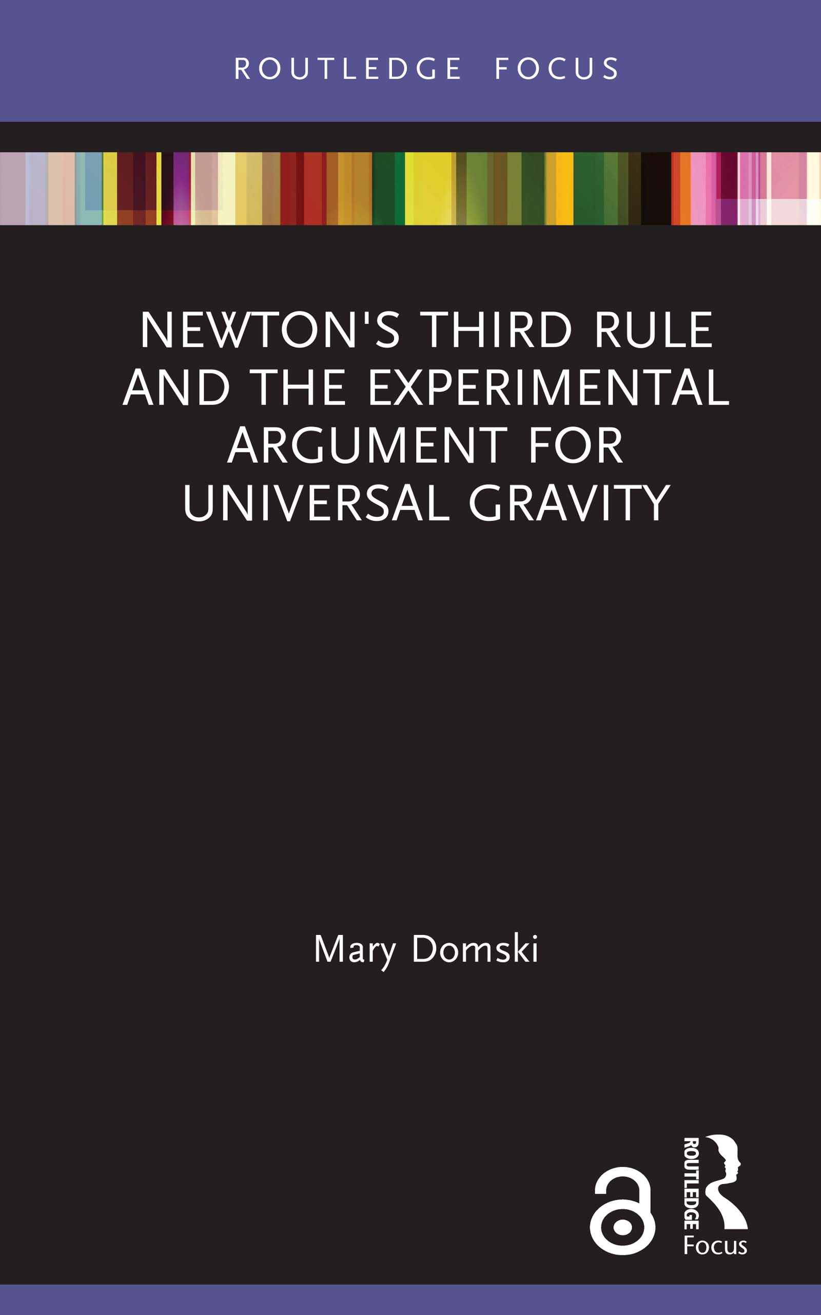 Newton's Third Rule and the Experimental Argument for Universal Gravity
