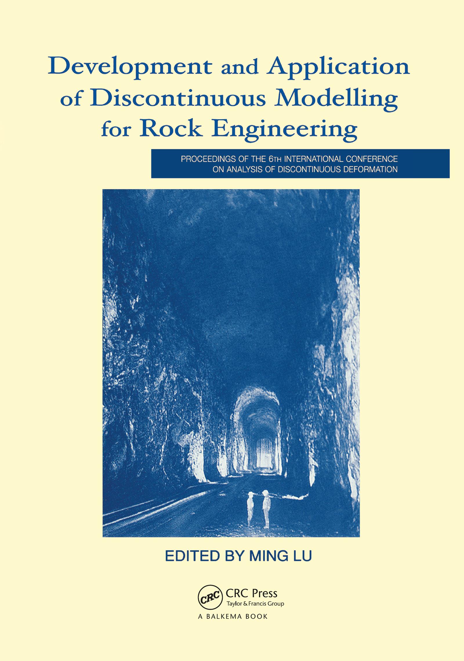 Large span cavern stability analysis – practical use of DDA