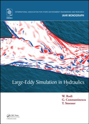 Large-Eddy Simulation in Hydraulics book cover
