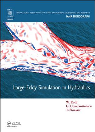 Large-Eddy Simulation in Hydraulics: 1st Edition (Hardback) book cover