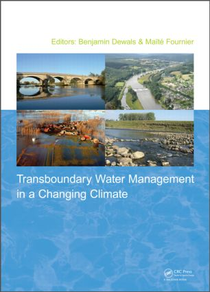 Transboundary Water Management in a Changing Climate (Hardback) book cover