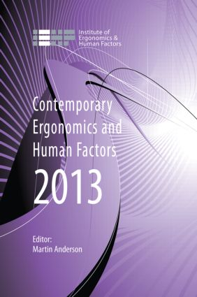Contemporary Ergonomics and Human Factors 2013