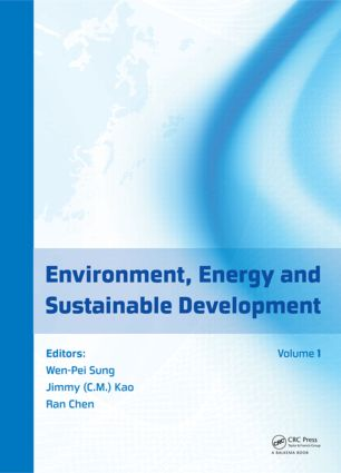 Environment, Energy and Sustainable Development: 1st Edition (Hardback) book cover