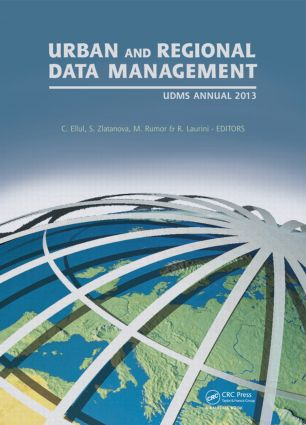 Urban and Regional Data Management: UDMS Annual 2013, 1st Edition (Hardback) book cover