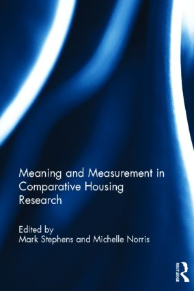 Meaning and Measurement in Comparative Housing Research (Hardback) book cover