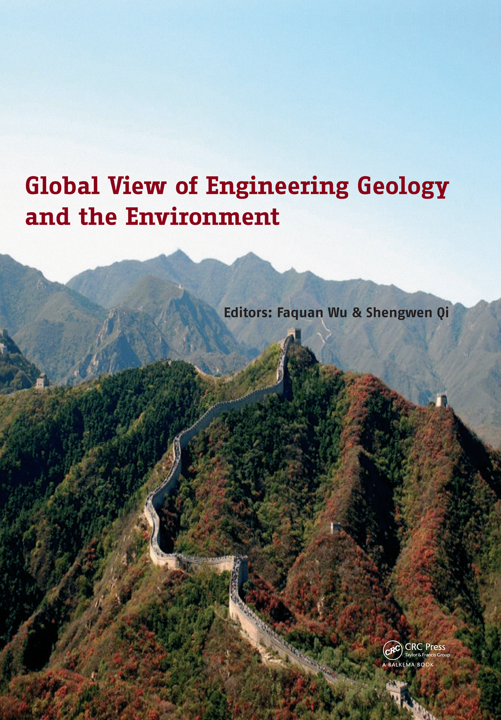 Global View of Engineering Geology and the Environment: 1st Edition (Pack - Book and CD) book cover