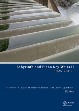 Labyrinth and Piano Key Weirs II: 1st Edition (Hardback) book cover