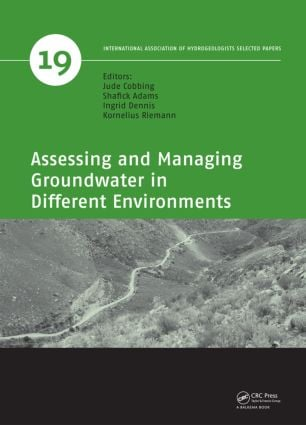 Assessing and Managing Groundwater in Different Environments book cover