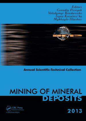 Mining of Mineral Deposits: 1st Edition (Paperback) book cover