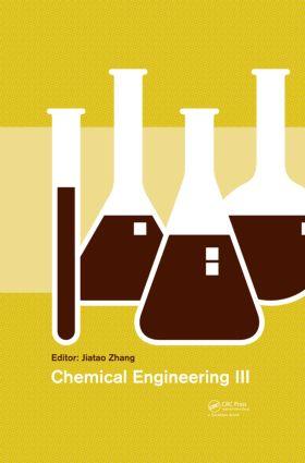 Chemical Engineering III: 1st Edition (Hardback) book cover