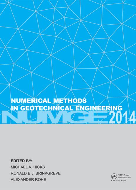 Numerical Methods in Geotechnical Engineering: 1st Edition (Pack - Book and CD) book cover