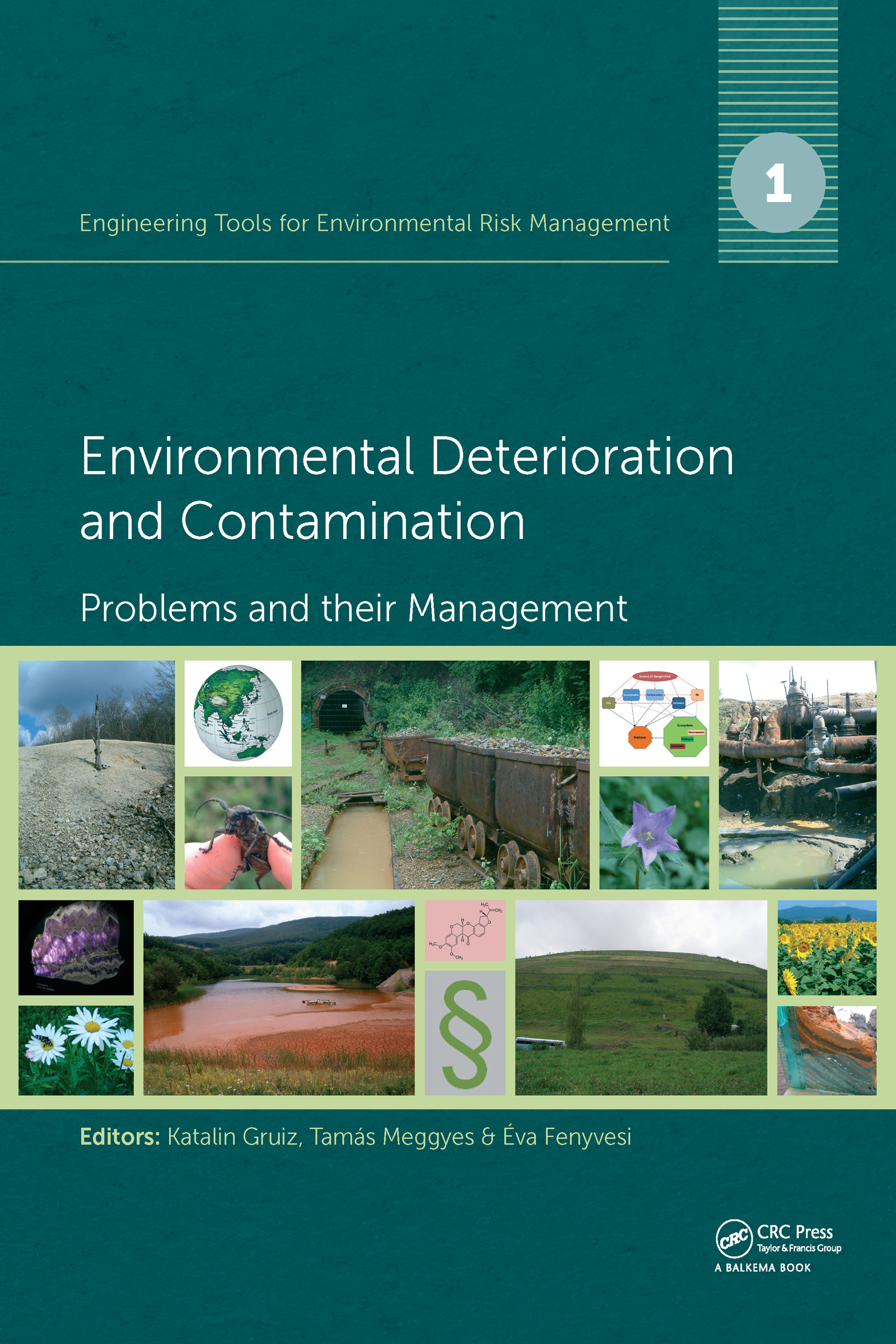 Engineering Tools for Environmental Risk Management: 1. Environmental Deterioration and Contamination - Problems and their Management, 1st Edition (Hardback) book cover