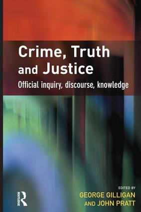 Crime, Truth and Justice: 1st Edition (Paperback) book cover