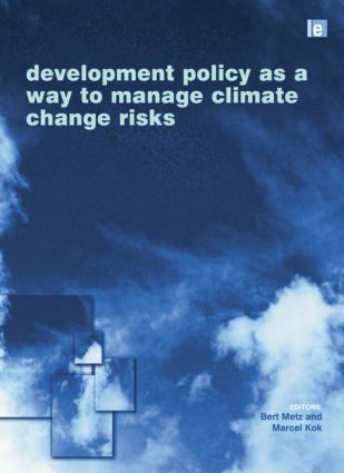 Development Policy as a Way to Manage Climate Change Risks: 1st Edition (Paperback) book cover