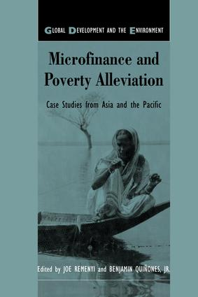 Microfinance and Poverty Alleviation: Case Studies from Asia and the Pacific, 1st Edition (Paperback) book cover