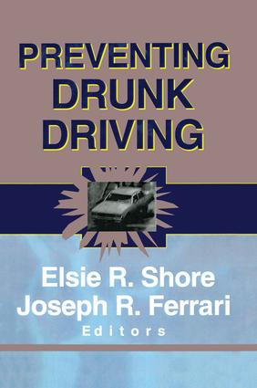 Preventing Drunk Driving (Hardback) book cover