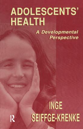 Adolescents' Health: A Developmental Perspective (Hardback) book cover